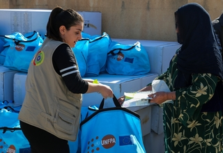500 women received dignity kits this week. Credits: Civil Development International/2017