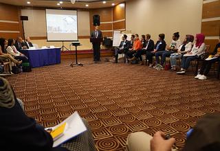 سيركز التدريب الذي يستمر خمسة أيام على التعاون والحوار في الحفاظ على السلام © 2019 / صندوق الأمم المتحدة للسكان في العراق