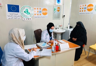 Women health workers continue to provide much needed services to women and girls across Iraq. © 2020/ photo by UIMS