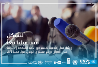 UN75: Online training on media reporting amid COVID-19