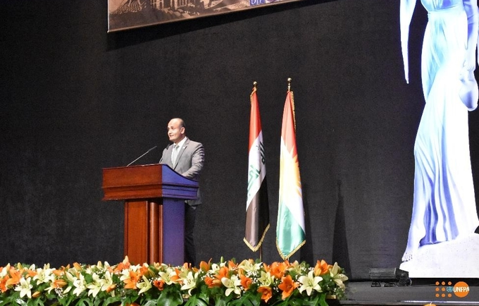 UNFPA Representative in Iraq, Ramanathan Balaksrishnan