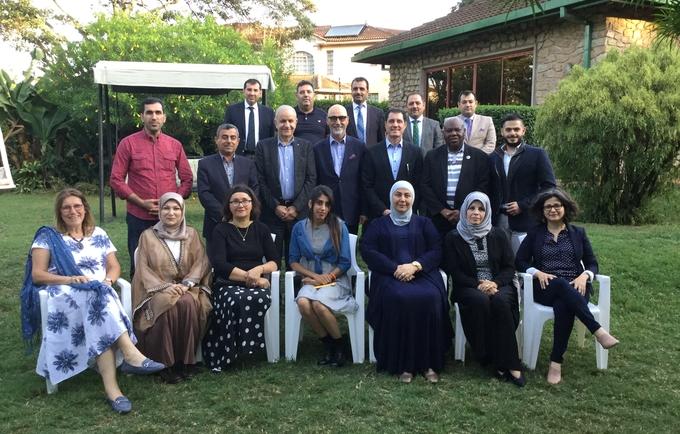 The Iraq delegation to the Nairobi Summit © 2019