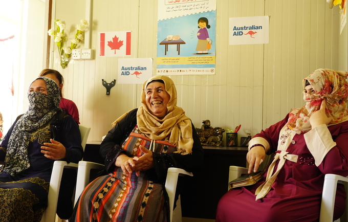 The new funding from Canada benefits internally displaced women and girls across Iraq © 2019/UNFPA Iraq