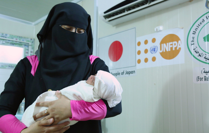 The US$ 2 million contribution from the Government of Japan will reach 50,000 IDPs, residents, returnees and Syrian refugees in Iraq. © 2018/UNFPA Iraq