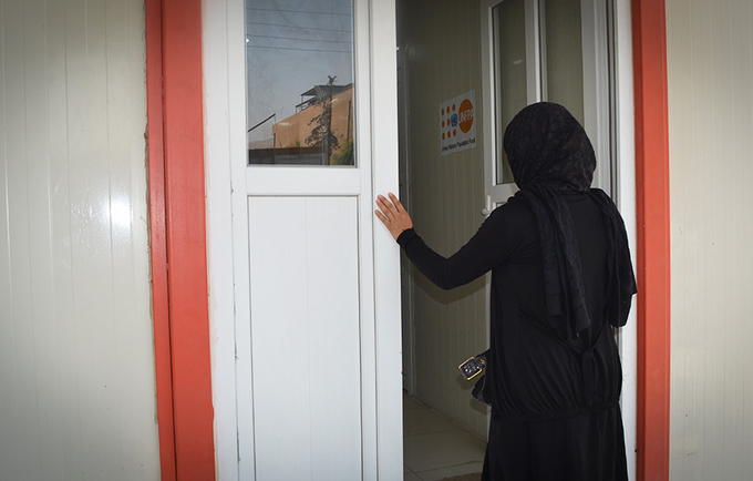 Women and Girls' Treatment and Support Centre offers specialized, sensitive care for survivors of sexual and gender-based violence. © UNFPA/Khetam Malkawi