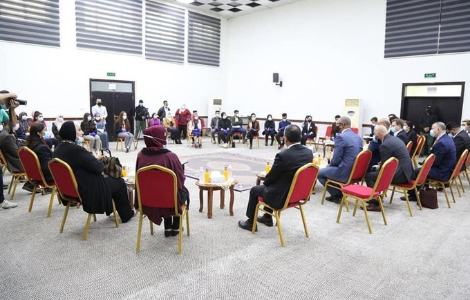 British Minister, Ambassador, UNFPA Meet Youth at Ministry of Youth & Sports