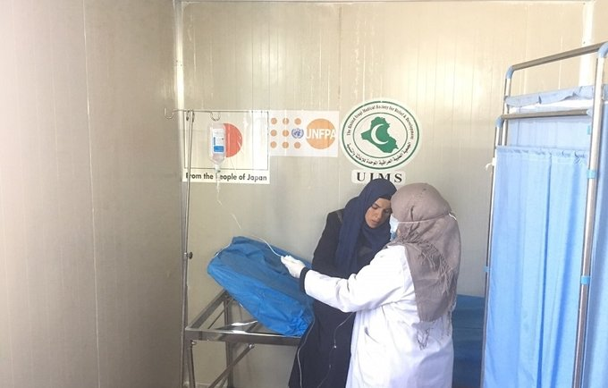 UNFPA Welcomes the Generous Donation from the Government of Japan to Meet the Needs of Women and Girls in Iraq