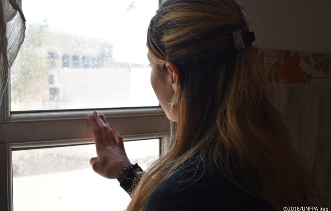 """""""I was only 15 years old when they came into our village, they killed men and older women while they kidnapped and raped the younger ones,"""" Nihad, Yezidi survivor. © 2018/UNFPA Iraq"""