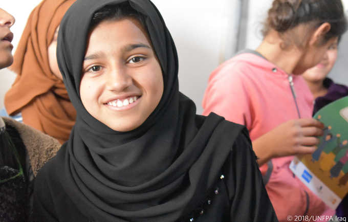 UNFPA & Australia are working together towards ensuring a safe environment for women and girls in Iraq. © UNFPA Iraq