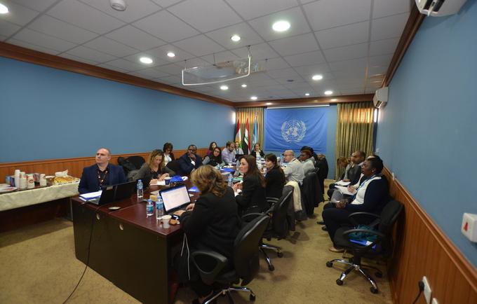 Iraq Humanitarian Community launches the Real-Time Accountability Partnership © UNHABITAT/2018