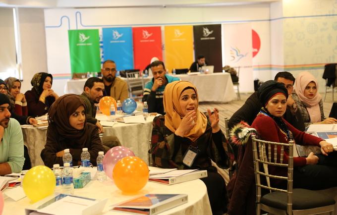 شارك ثلاثون شابا من العراق في التدريب على القيادة في عمان / أجيال من أجل السلام