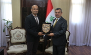 Dr Al Alak praised Mr Balakrishnan for the leadership and commitment he demonstrated and acknowledged the important contributions and achievements of the UNFPA programme in Iraq
