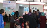 UNFPA Reproductive Health Clinic in Hamam Aleel camp, Mosul, Iraq