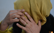Cojine* endured years of spousal abuse in Iraq. © UNFPA Iraq
