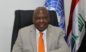 الدكتور أولوريمي سوجنرو، ممثل صندوق الأمم المتحدة للسكان الجديد في العراق