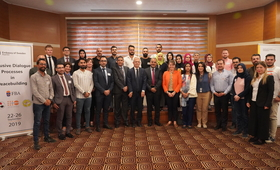 The five-day training will focus on collaboration and dialogue in sustaining peace © 2019/UNFPA Iraq