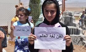 Art is a universal language © 2018/UNFPA Iraq Photo