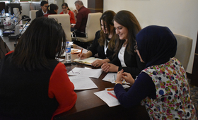 The workshop provided an overview of the ethics and principles of quality reporting and story-telling.© 2018/UNFPA Iraq