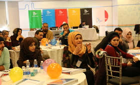 Thirty youth from Iraq participated in the leadership training in Amman/© Generations For Peace