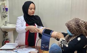 © 2021 - صندوق الأمم المتحدة للسكان في العراق ، تصوير سلوى موسى