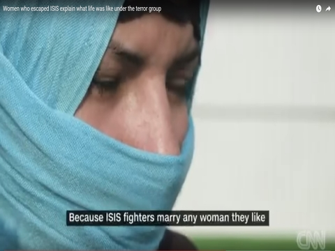 CNN Report: Women Fleeing ISIL and the role of UNFPA Women Centres in Overcoming the Trauma