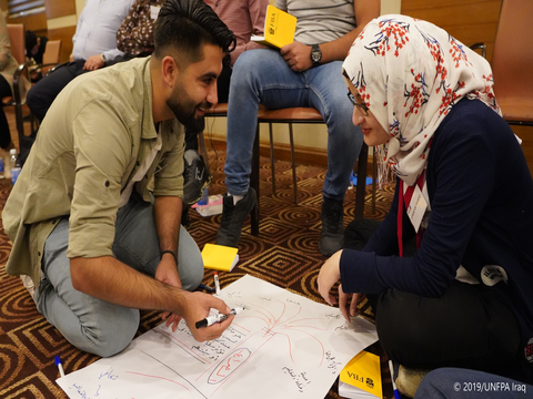 Youth Catalysts for Change | Peace-building Training | UNFPA Iraq